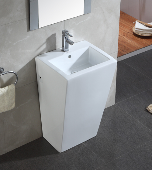 Aquant Ceramic Pedestal Basin