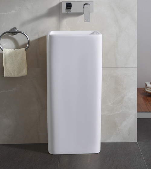 Aquant Ceramic Pedestal Wash Basin