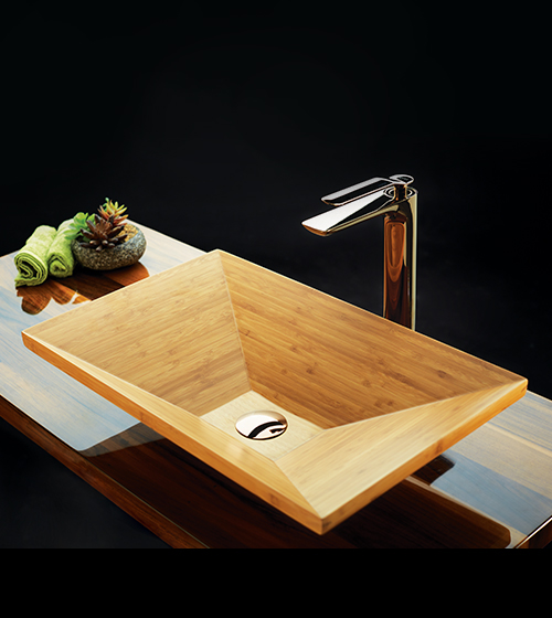 Aquant Bamboo Wood Basins