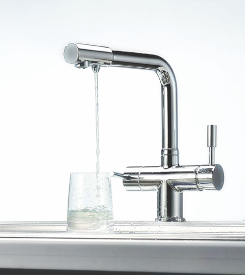 Kitchen Faucets with RO Connection