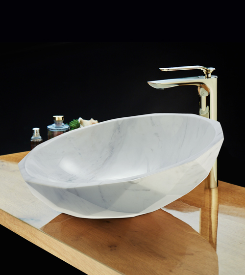 Marble Counter-Top Basins
