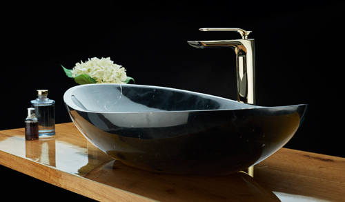 Aquant Nero Marquina Marble Basins