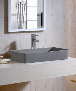 Aquant Matt Grey Wash Basin
