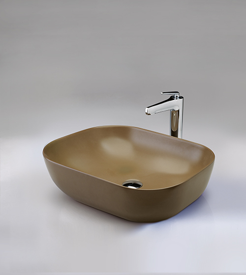 Aquant Matt Mint Mocha Wash Basin