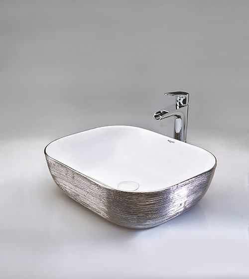 Aquant Platinum Silver Wash basin