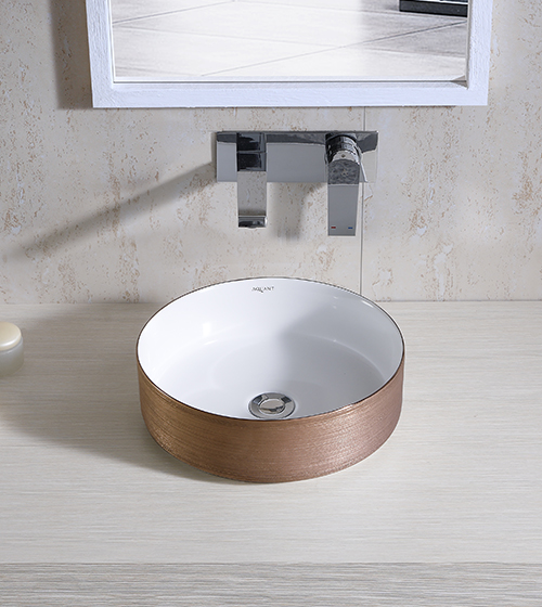 Aquant Rose Gold Wash Basin
