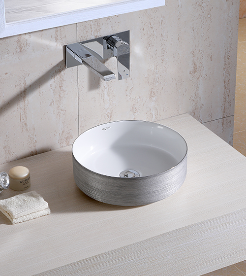 Aquant Silver Wash Basin