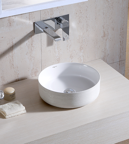Aquant Matt White Wash Basin