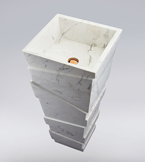 Aquant White Marble Wash Basin