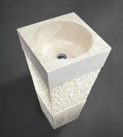 Aquant Marble Pedestal Wash Basin