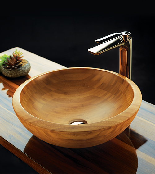Bamboo-Wood Basins